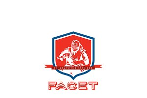 Paget  Sandblasting Logo