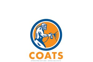 Coats Spray Painting Logo