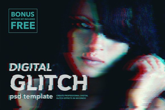 Trend Report: The Glitch Video Effect Is Back ~ Creative Market Blog