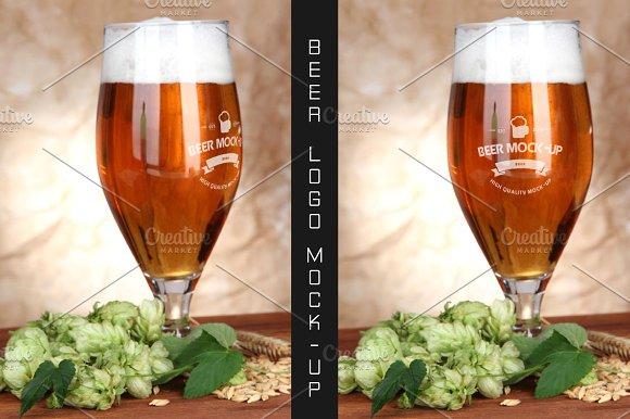 Beer Logo Mock-up #12