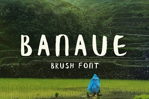 Banaue Handwritten brush font