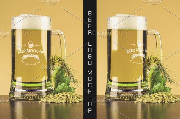 Beer Logo Mock-up #13
