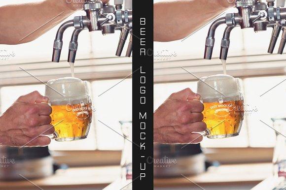Beer Logo Mock-up #14