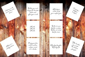 Wall art bundle, 10 printable quotes