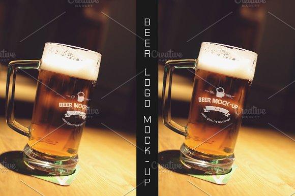 Beer Logo Mock-up #15