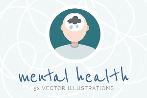 Mental health illustrations