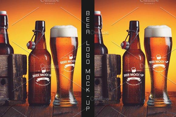 Beer Logo Mock-up #19