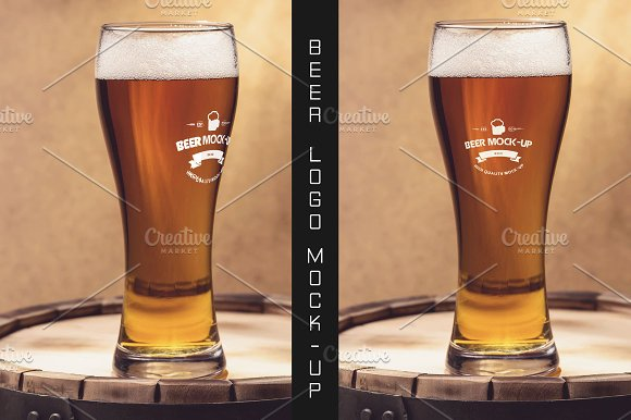 Beer Logo Mock-up #20 in Product Mockups