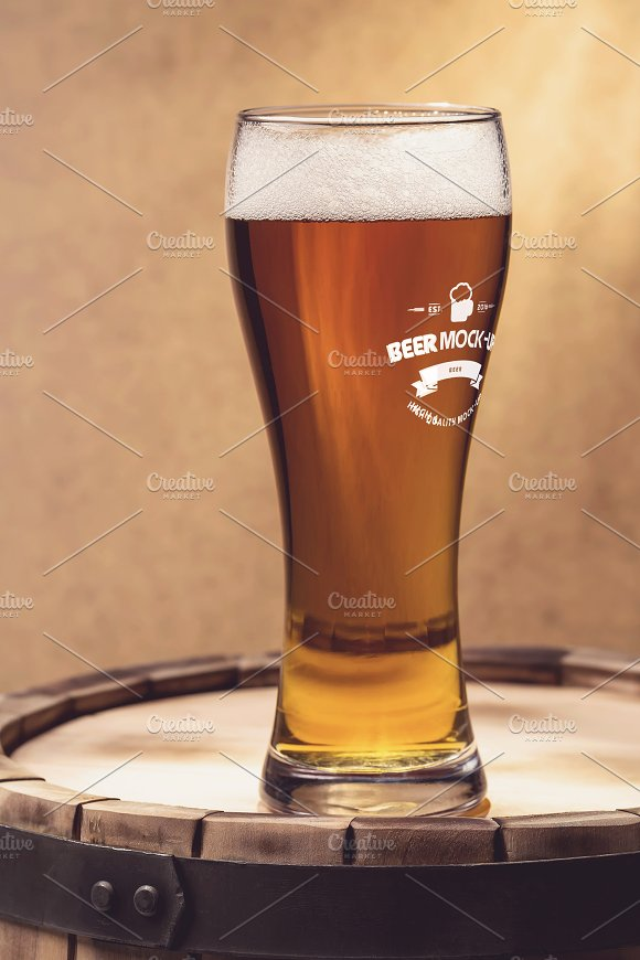 Beer Logo Mock-up #20 in Product Mockups - product preview 1