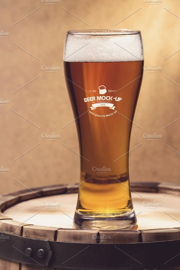 Beer Logo Mock-up #20 in Product Mockups - product preview 2