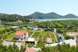 Summer sea coastline (Croatia)