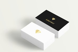 Diamond Gold Logo + Business Card