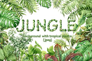 Watercolor Jungle