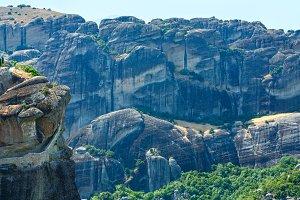 Meteora rocky monasteries