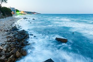Summer Black Sea coast (Bulgaria).