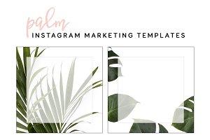 Palm Social Media Templates