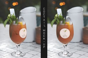 Coctail Logo Mock-up #6