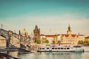 Prague, Czech Republic. Vintage.
