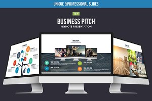Business Pitch Keynote Template