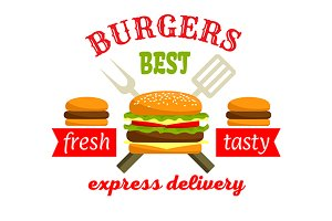 Burgers Express Delivery icon