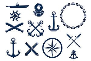 Marine and nautical heraldry