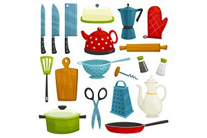 Kitchen utensil and ketchenware