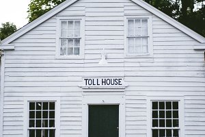 Antique toll house