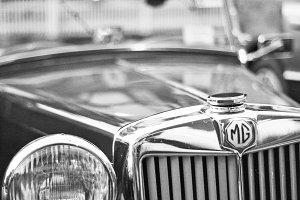Classic car MG