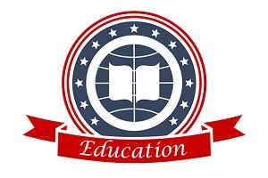 Education emblem design
