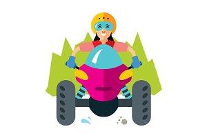 ATV Girl