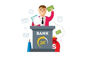 Bank, Finance Agent