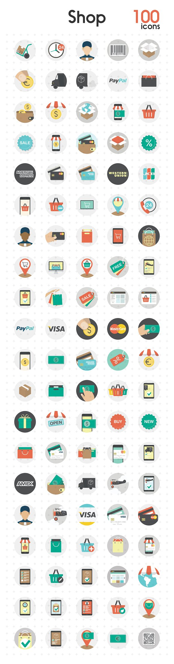 Shop Payment Vol.2 - Icons