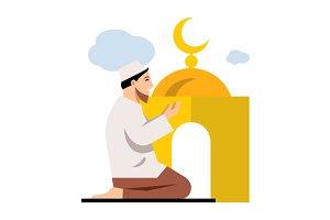 Islamic Prayer.