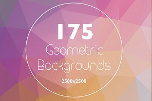 175 Geometric Backgrounds