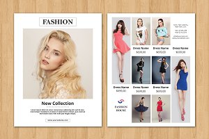 Fashion Product Promotion Flyer-V382