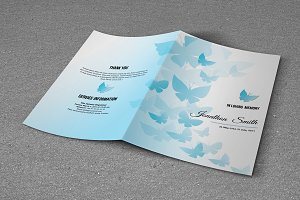 Funeral Program Template-T596