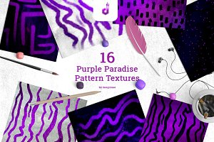 Purple Paradise Pattern Textures