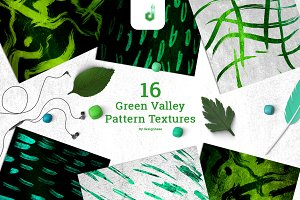 Green Valley Pattern Textures