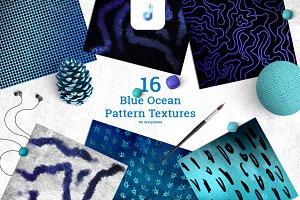 Blue Ocean Pattern Textures