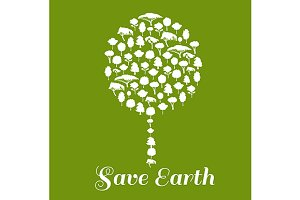 Save Earth environment poster