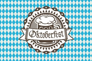 Vector logo for Oktoberfest