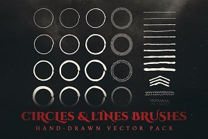 Esoteric Hand-Drawn Vector Brushes