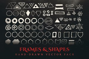 Esoteric Frames & Shapes Vector Pack