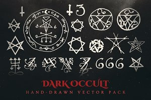 Esoteric Dark Occult Vector Pack