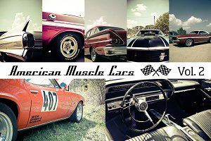American Muscle Cars Vol. 2 (12x)
