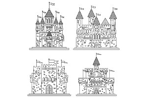 Medieval castles and fortress