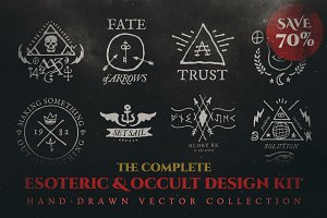 Complete Esoteric/Occult Design Kit
