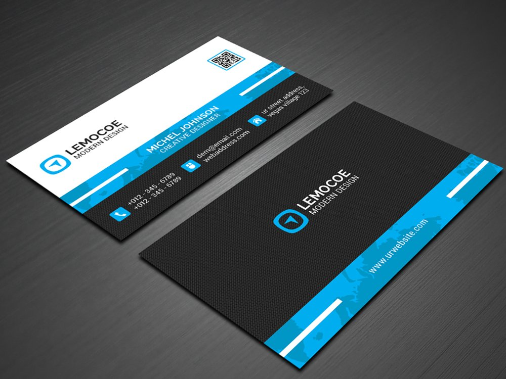 Simple Business Card ~ Business Card Templates ~ Creative Market