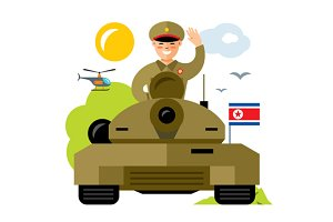 Tankman North Korea