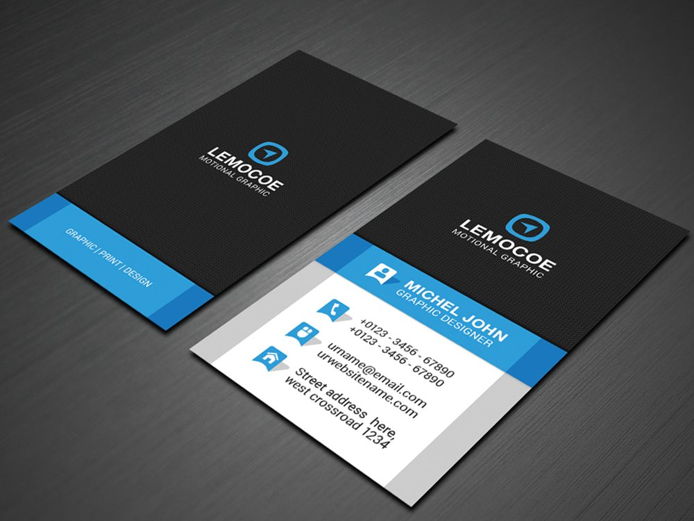 verticle business cards - Etame.mibawa.co